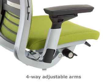 Steelcase Think chair arms