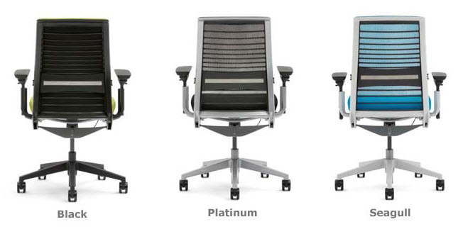 Steelcase Think Chair Frame Color Options