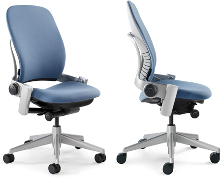 Steelcase Leap Chair with without arms image