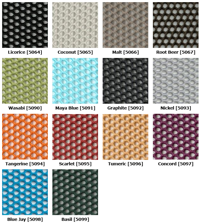 3D Knit Mesh for Steelcase Chair backs including the Leap and Think chair